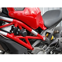 Crash Pads Ducati Monster 696, 796, 1100 - Woodcraft