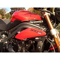 Crash Pads Triumph Speed Triple 2011-2013 - Woodcraft