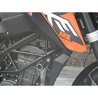 Crash Pads KTM 125 Duke 2011-> - Bike Design