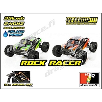 1/12 Rock Racer, 2.4GHz, RTR - Yellow RC