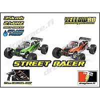 1/12 Street Racer, 2.4GHz, RTR - Yellow RC