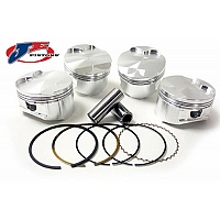 Mäntäsarja Suzuki Hayabusa 2008-2011 81mm Turbo 9.0:1 - JE-Piston